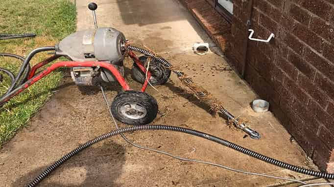roto rooter drain machine in Willowbrook